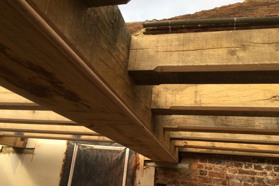 Oak Frame Ceiling