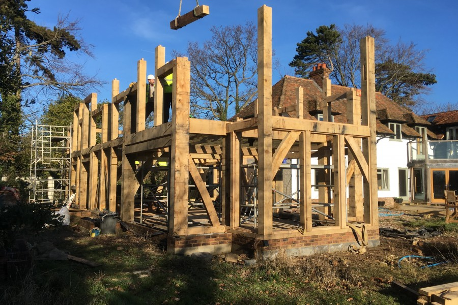 Reams Cottage Second Phase of House Remodel Raise