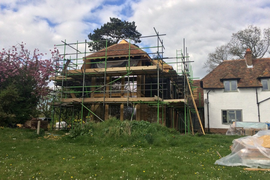 Reams Cottage Update 5/5/17
