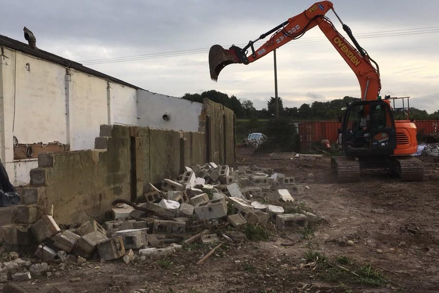 Old Workshop Demolition