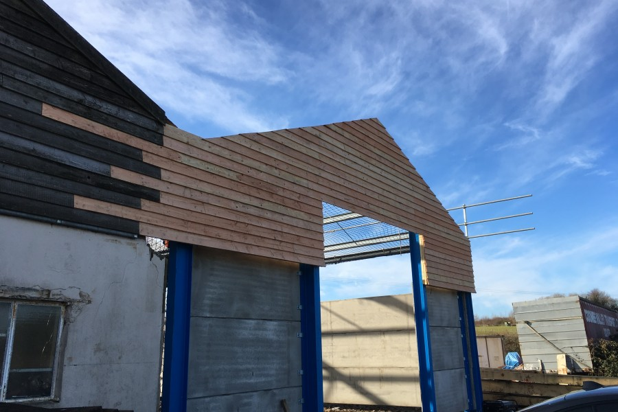 Workshop two update! – 15/12/2017 – Norton Timber